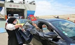 المغرب يستأجر باخرتين لتسهيل عودة افراد الجالية