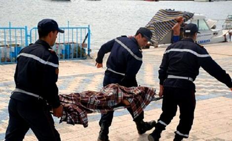 انتشال جثة مجهولة الهوية كانت طافية قرب ميناء الحسيمة