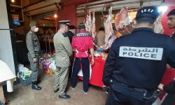لجنة مراقبة الجودة تباغت المحلات التجارية بمدينة الحسيمة