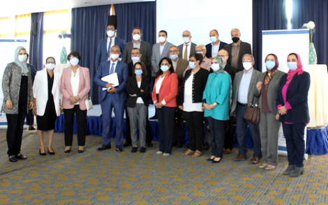 بوعياش تشرف على تنصيب اعضاء اللجنة الجهوية لحقوق الانسان بجهة الشمال