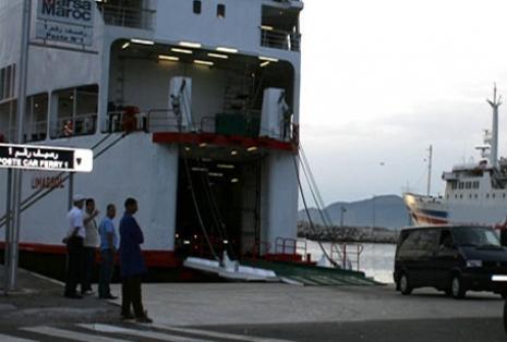 ميناء الحسيمة يستقبل أول باخرة للجالية المغربية المقيمة بالخارج برسم عملية العبور مرحبا 2012