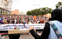 الالاف يشاركون في مسيرة بالرباط نصرة لمعتقلي حراك الريف