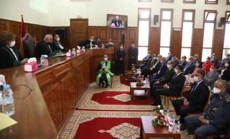 تنصيب الرئيس الجديد لمحكمة الاستئناف بالحسيمة والوكيل العام للملك لديها