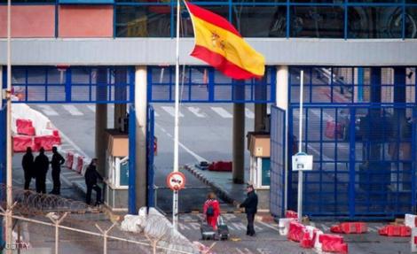 اسبانيا ترفض فتح الحدود مع المغرب من جانب واحد
