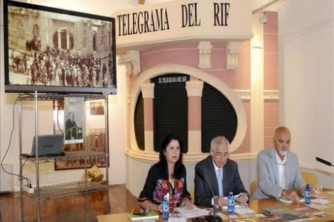 """مليلية تحتفي بمؤسس جريدة """"تيليغراما ديل ريف"""" التي كان يكتب لها الخطابي"""
