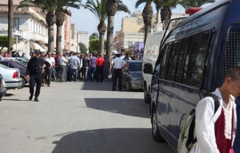 AMDH الناظور تتهم السلطات الامنية بالتقصير في حماية المواطنين