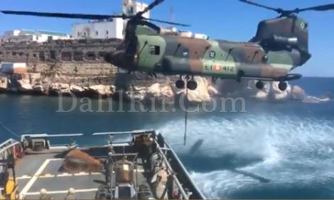 تحركات للجيش الاسباني قرب جزيرة النكور بالحسيمة