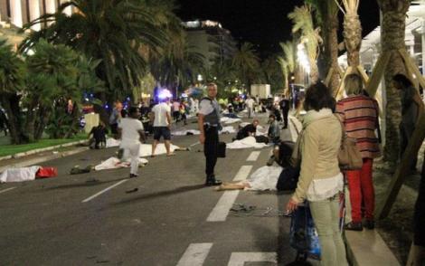 مصرع اربعة مغاربة في الاعتداء الارهابي بنيس الفرنسية