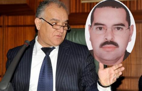 """الخمليشي يجر مضيان الى القضاء بسبب """"اموال المخدرات"""""""