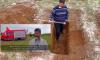 مهاجر من بني بوعياش يحفر قبره قرب قنصلية مغربية في فرنسا (فيديو)