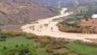حمولة واد النكور بسبب الامطار الغزيرة