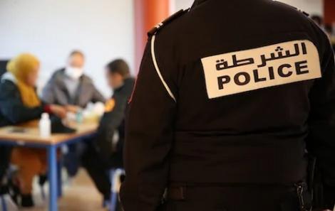 توقيف ثلاثة مترشحين لمباراة الأمن في حالة غش بالحسيمة