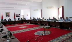 قضاة مجلس الحسابات يحلون بالمجلس الاقليمي للحسيمة