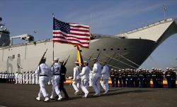 الرباط تعرض على الجيش الامريكي نقل قواته البحرية من اسبانيا الى شمال المغرب