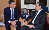 رئيس الحكومة الإسبانية يحل بالمغرب في أول زيارة له