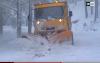 الثلوج تشل الحركة بجماعة اساكن بالحسيمة
