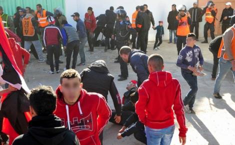 جامعة الكرة تتجه نحو حرمان الوداد من جماهيره بعد احداث الحسيمة