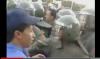 مناوشات بين الأمن ومحتجين بالعروي