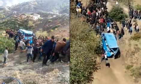 وفاة سيدة حامل في حادثة سير خطيرة نواحي اقليم الحسيمة (فيديو)