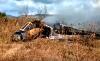فيديو .. تحطم طائرة عسكرية مغربية أثناء مهمة تدريبية بتاونات