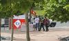 سلطات تارغونا تتدخل لإزالة خيام لنشطاء ريفيون امام القنصلية المغربية