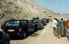 انهيار صخري يقطع الطريق الساحلية بين تطوان والحسيمة