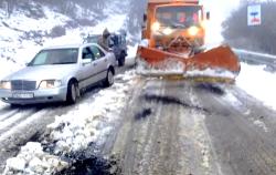 الثلوج تكسو مرتفعات غرب إقليم الحسيمة (فيديو)
