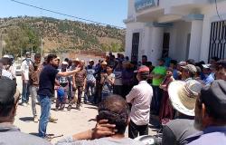 الحسيمة.. مواطنون بتماسينت يحتجون على اقصائهم من اعانات صندوق كورونا