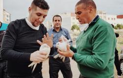 معتقل الحراك يوسف الحمديوي يعانق الحرية بعد ثلاث سنوات من السجن