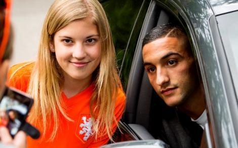 إبن الريف حكيم زياش يرفض اللعب لهولندا ويختار المغرب