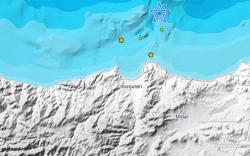هزات أرضية خفيفة في بحر البوران قبالة سواحل الحسيمة