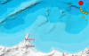 هزة أرضية بقوة 4,6 درجات تضرب سواحل الناظور