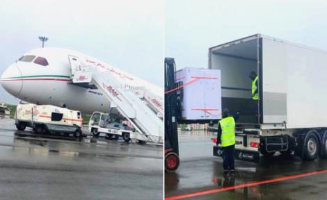 وصول أولى شحنات لقاح أسترازينيكا إلى المغرب