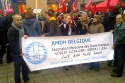 فرع الـ AMDH ببلجيكا ينتقد الوضع الحقوقي بالمغرب