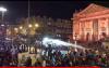 شغب الجمهور المغربي في بروكسيل