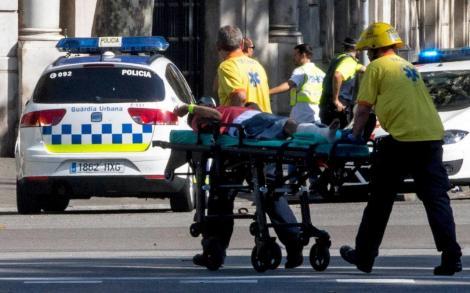 بالفيديو مقتل وجرح العشرات في حادث دهس بشاحنة في برشلونة