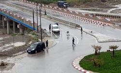 مدخل اقليم الحسيمة.. السلطة والامن يسهران على تنفيذ قرار منع التنقل بين المدن