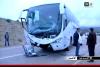 3 قتلى في حادثة اصطدام حافلة بسيارة خفيفة على الطريق الساحلي