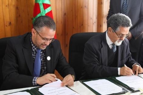 الشوباني وبوكوس يوقعان اتفاقية شراكة للنهوض بالامازيغية