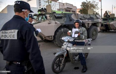 المغرب .. ايداع 377 شخصا السجن بسبب خرق حالة الطوارئ