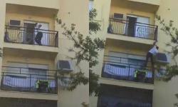 اسبانيا .. شاب مغربي يغامر بحياته لانقاذ أسرة من حريق (فيديو)