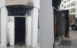 فرنسا .. محاولة اضرام النار في مسجد بليون ووزير الداخلية يدين