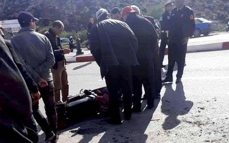 حادثة سير ترسل سائق دراجة نارية الى مستعجلات الحسيمة