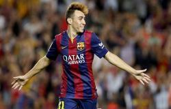 برشلونة يبيع منير الحدادي لنادي اشبيلية