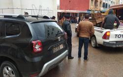 السلطة المحلية تستأنف حملة تحرير الملك العمومي بمدينة امزورن