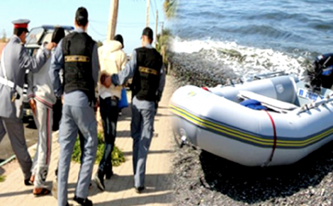 تنظيم رحلات للهجرة السرية من الحسيمة يقود 3 اشخاص الى السجن