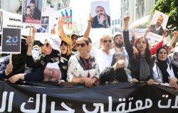 معتقلو الريف يدعون إلى إضراب عام بالحسيمة ومسيرة وطنية