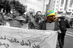 جمعية اسافو ومنتدى حقوق الإنسان باوروبا ينددان باعتقال الناشط مصطفى بوهني