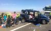 عائلة مغربية من 8 افراد تتعرض لحادثة سير خطيرة في اسبانيا