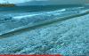 الثلوج تصل إلى شاطئ اصفيحة بالحسيمة